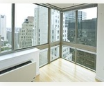 FINANCIAL DISTRICT 3 BEDROOM 2 BATHROOM FULL SERVICE LUXURY BUILDING, NO FEE